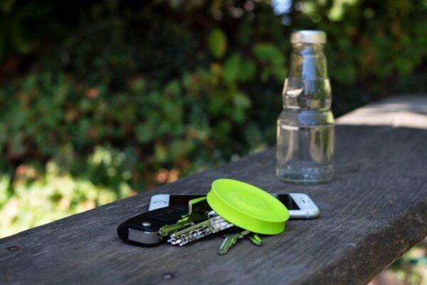 Grüne Mini Frisbee
